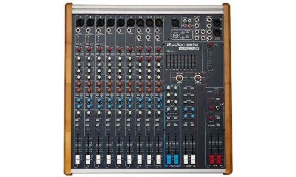STUDIOMASTER HORIZON 12 – 12 CHANNEL PASSIVE PA MIXER - Unpowered